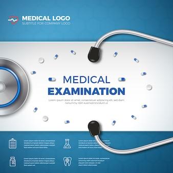 Medical examination banner