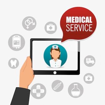 Medical healtcare design.