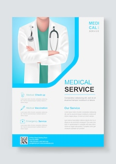 Medical health care service design template