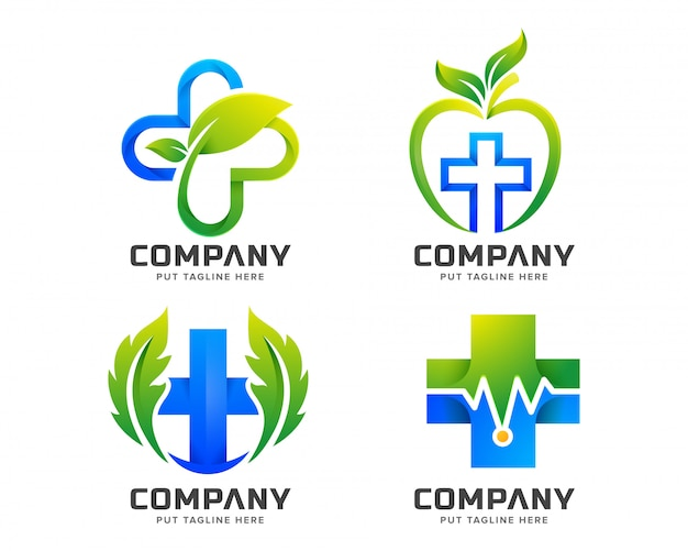 Medical health logo for company