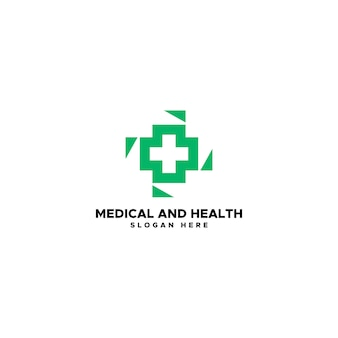 Medical and health logo