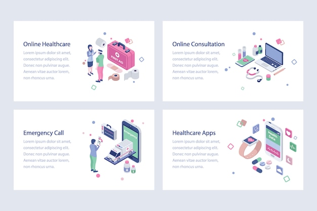 Medical and healthcare vectors illustration