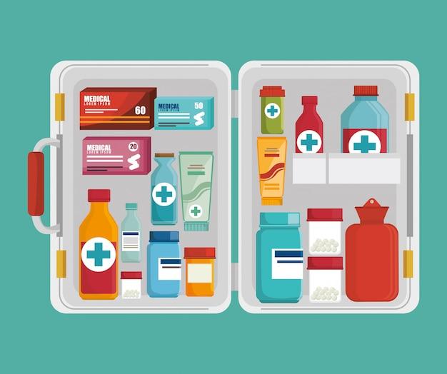 Medical heatlhcare graphic