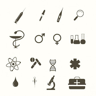 의료 아이콘, 흑인과 백인