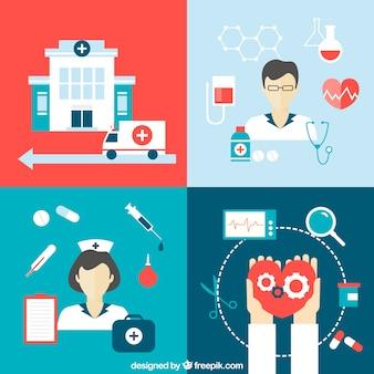 Медицинские иконки