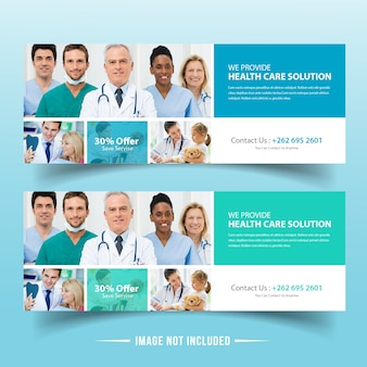 Medical Insurance Web Banner Design