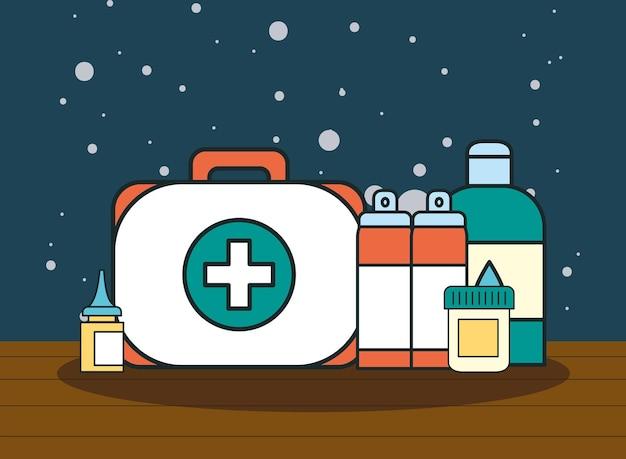 의료 키트 및 의약품