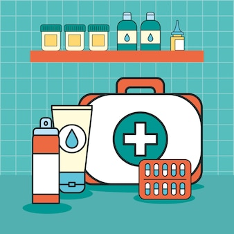 Medical kit and drugs