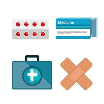 Элементы медицинского набора