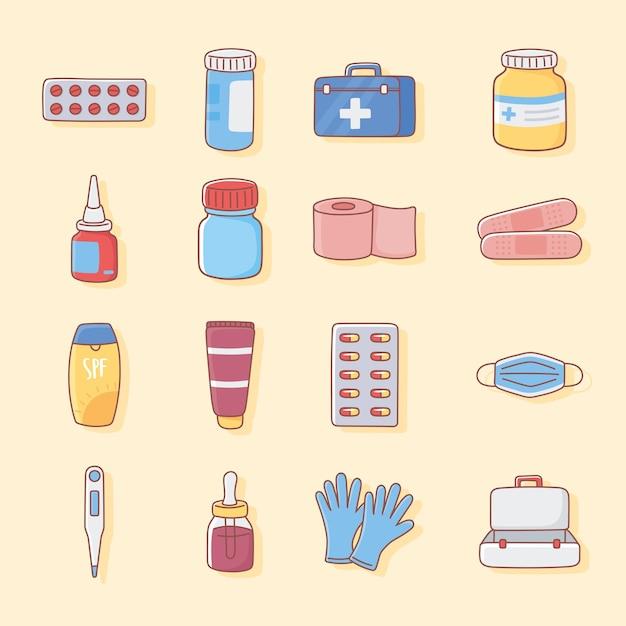 Тема медицинской аптечки