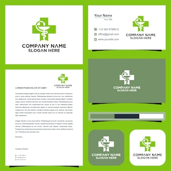 Medical logo and business card