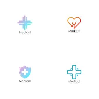 Medical logo vector.