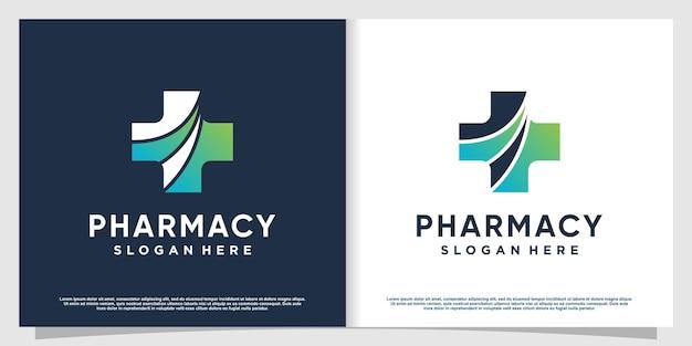 現代の創造的な要素プレミアムベクトルパート3の医療ロゴ