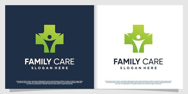 現代の創造的な要素プレミアムベクトルパート7の医療ロゴ