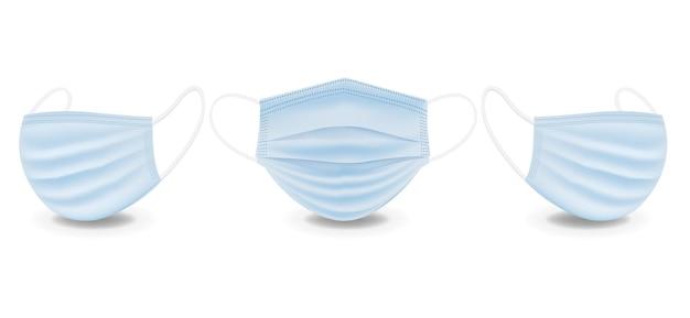 Medical mask set
