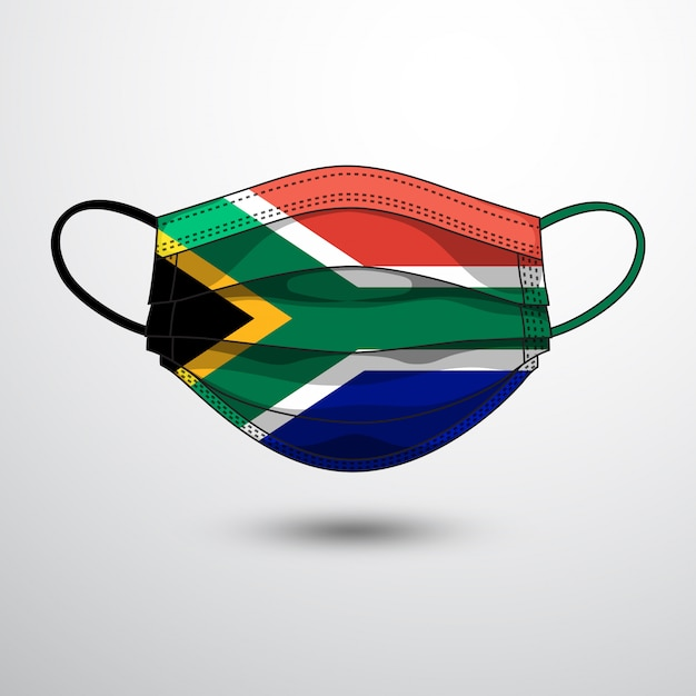 Republic of South Africa Flag Key Chain NEW