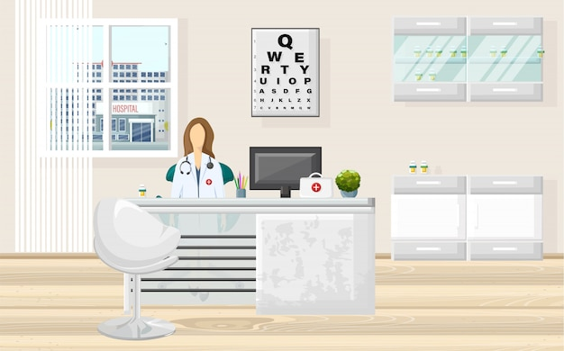 Medical office doctor consultation
