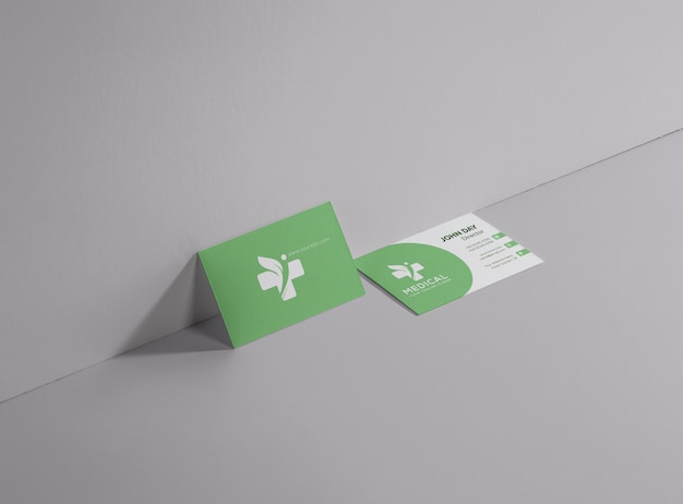 Medical and pharmaceutical business card