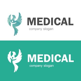 Шаблон логотипа медицинской аптеки. векторный иллюстратор