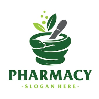 Medical and pharmacy logo
