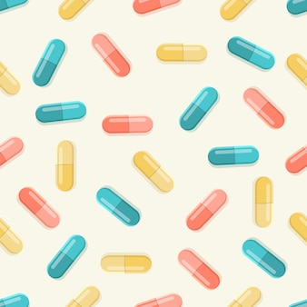 Медицинские таблетки бесшовные модели