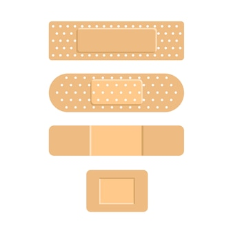 Medical plasters. adhesive bandage. patch medicine