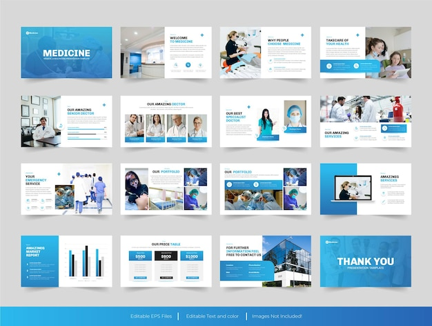 Медицинский дизайн презентации powerpoint