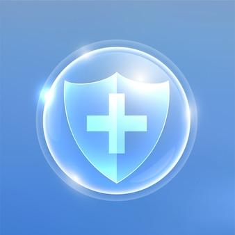 ウイルスや細菌に対する医療用プロテクションシールド