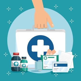 의료 서비스 설정 아이콘