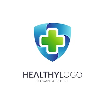 Medical shield logo