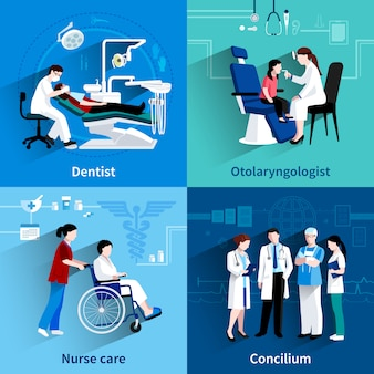 의료 전문가 디자인