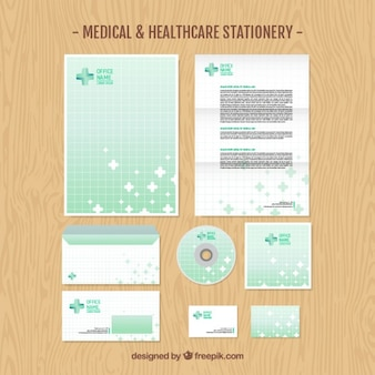 Medical stationery pack