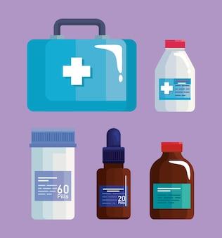 의료 기호 세트