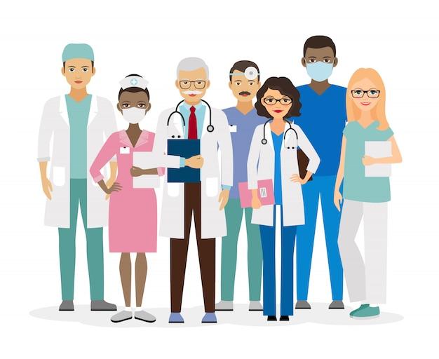 Medical team.
