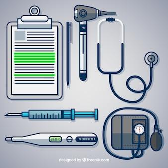 Medical tools Premium Vector