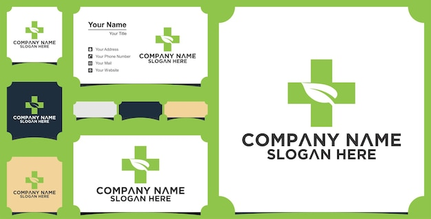Medical tree logo and business card