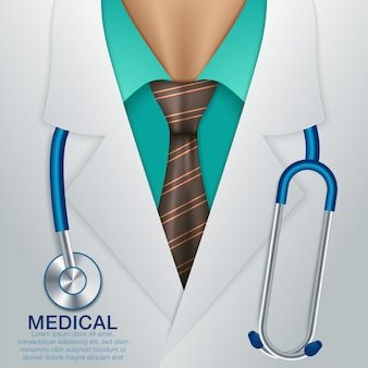 Medical vector background.