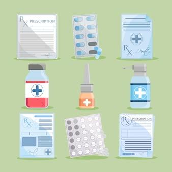Рецепт медикаментов и лекарств