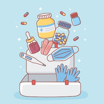 Лекарства для аптечки