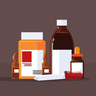 Набор контейнеров для бутылочек-капельниц