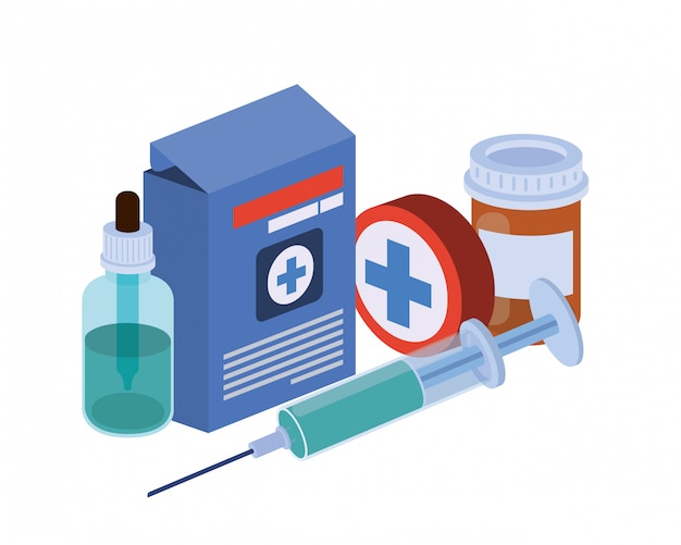 Medicine drugs isolated