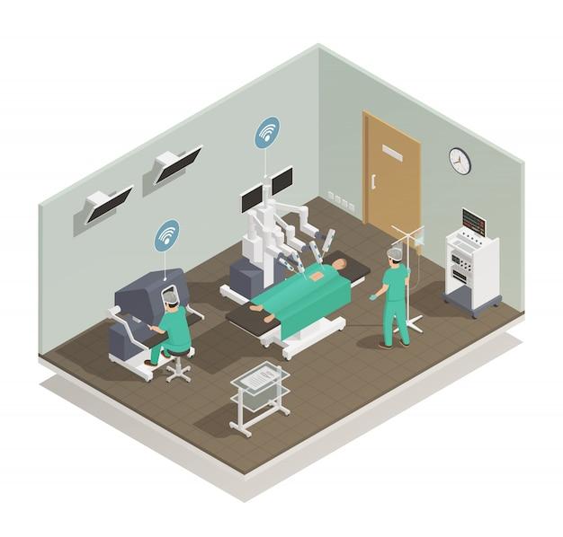 Медицина будущая технология композиция Бесплатные векторы