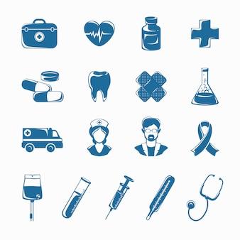Набор иконок медицины