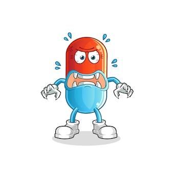 의학 괴물. 만화 캐릭터