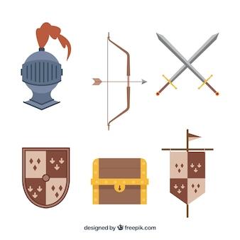 Средневековые аксессуары с классическим стилем