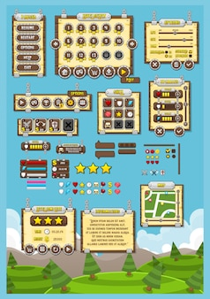 Medieval game gui