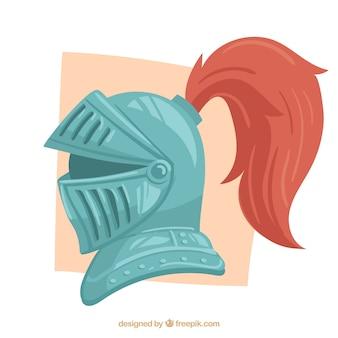 Средневековый шлем с классическим стилем