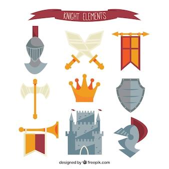 Средневековый пакет с забавным стилем