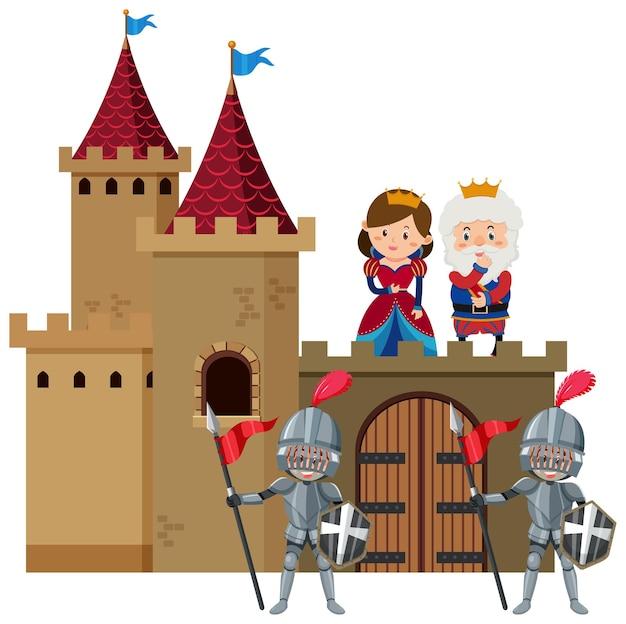 Средневековый королевский замок