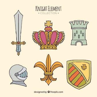 Medieval royalty elements